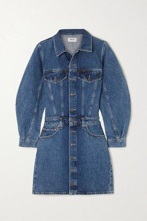 Denim Mini Dress - Indigo
