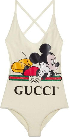 x Disney Mickey print swimsuit