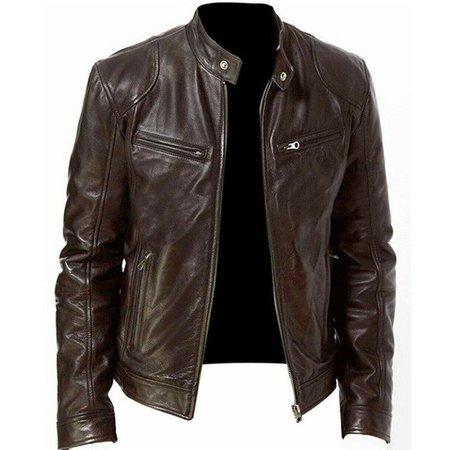 brown leather jacket - Búsqueda de Google
