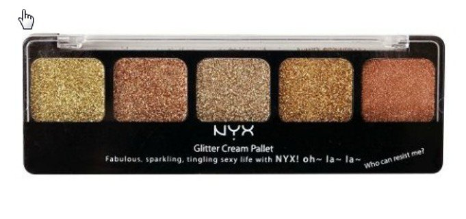 "Free: NYX Glitter Cream EyeShadow Palette in ""Bronze Goddess"" BN!! - Makeup - Listia.com Auctions for Free Stuff"