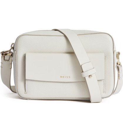 Reiss Archie Leather Crossbody Bag | Nordstrom