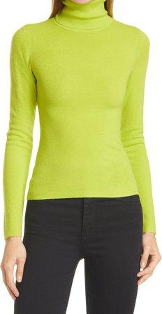 Ermelinda Wool Blend Turtleneck Sweater