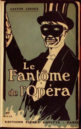 The Phantom Of The Opera Book 1910 Cover