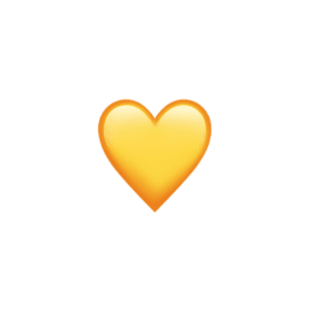 yellow aesthetic tumblr cute sun heart hearts emoji app...