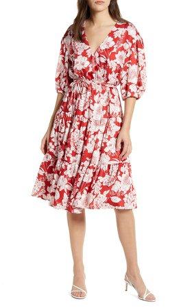Mary Wrap Dress