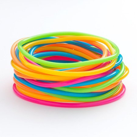 Rainbow Jelly Bracelets