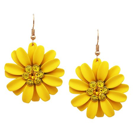 yellow earrings - Google Search