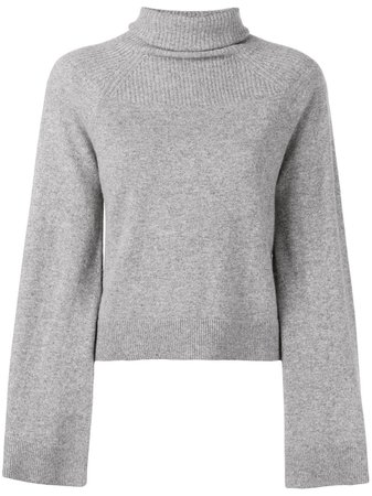 Pringle Of Scotland turtleneck cropped jumper £348 - Buy Online - Mobile Friendly, Fast Delivery