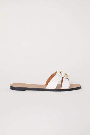 Slides - White
