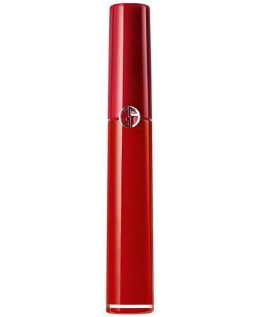 Lipstick Giorgio Armani Lip Maestro Liquid Lipstick & Reviews - Makeup - Beauty - Macy's