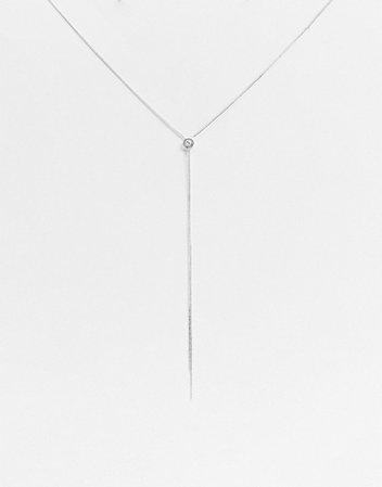 AllSaints delicate lariat necklace | ASOS