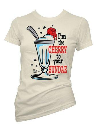 Cherry Sundae T-Shirt
