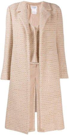 Pre-Owned tweed coat
