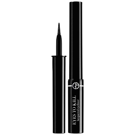 Giorgio Armani Eyes To Kill Lacquered Eyeliner, Obsidian Black at John Lewis
