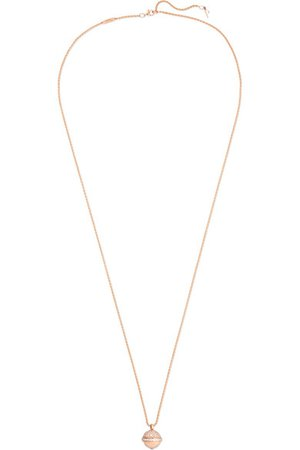 Piaget | Possession 18-karat rose gold diamond necklace | NET-A-PORTER.COM