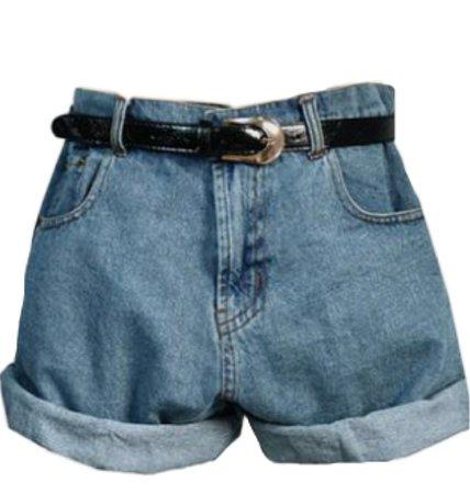 Aesthetic Denim Shorts (with belt)