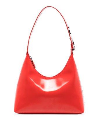 STAUD Scotty leather shoulder bag - FARFETCH
