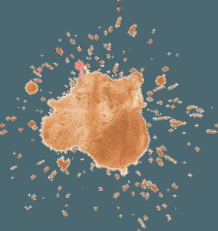 Brown splatter 2