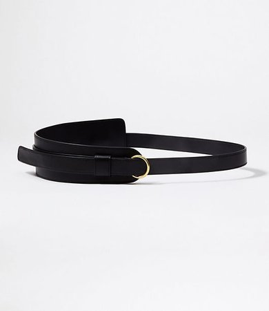 Ring Leather Belt