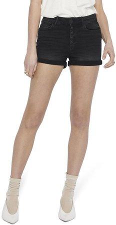 Hush Button Fly Denim Shorts