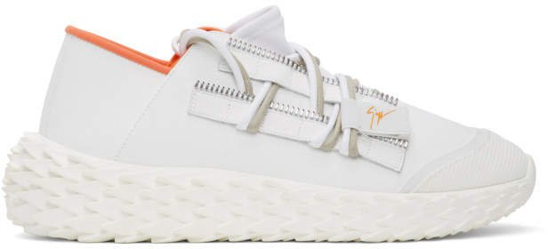 White Leather Urchin Sneakers