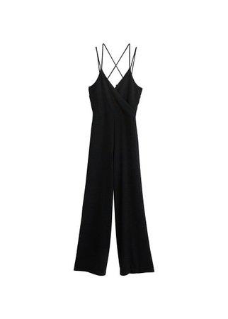 MANGO Metallic thread jumpsuit