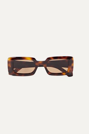 Tortoiseshell Square-frame tortoiseshell acetate sunglasses | Loewe | NET-A-PORTER