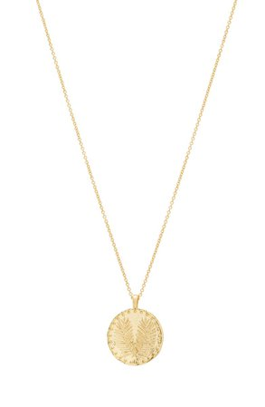 Palm Coin Pendant Necklace | Nordstrom