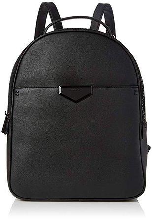 Aldo Womens Hughson Backpack Black (Black Leather): Amazon.co.uk: Shoes & Bags