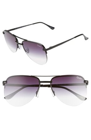 Quay Australia The Playa Mini 54mm Aviator Sunglasses | Nordstrom