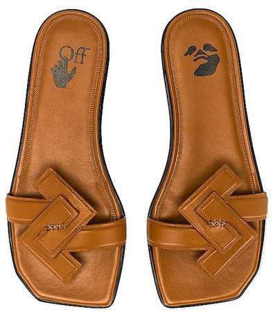 Arrow Flat Sandal