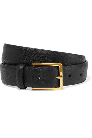 Anderson's | Textured-leather belt | NET-A-PORTER.COM