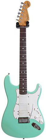 Fender Jeff Beck Strat Seafoam Green Lace Sensor HSS (Pre-Owned)