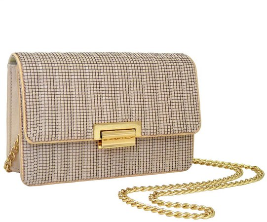 Sydney Quilted Clutch