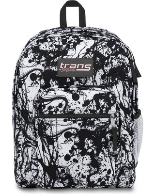SuperMax Backpack - Black Paintball, Gray Stripe