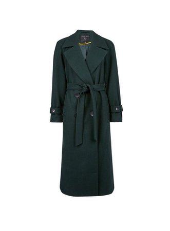 Black Belted Corduroy Midi Skirt   Dorothy Perkins