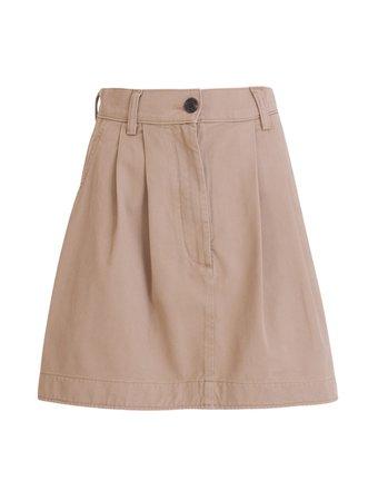 Department Five Denim Mini Skirt