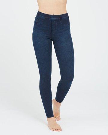 Jean-ish® Ankle Leggings -   SPANX