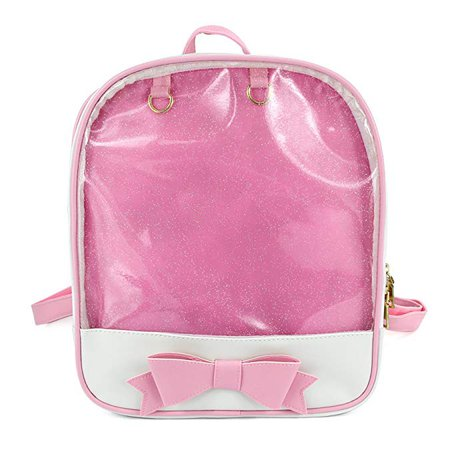 Amazon.com: SteamedBun Ita Bag Candy Backpack Bowknot Kawaii Window Bag: Shoes