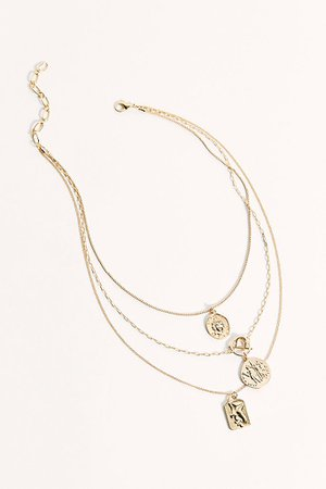 Amber Sceats Coin Necklace | Free People