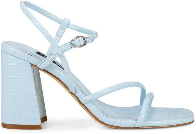 Gellar Block Heel Sandals