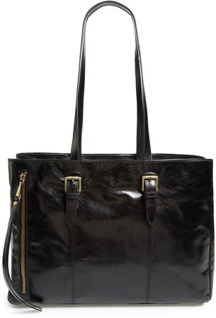 Cabot Calfskin Leather Tote