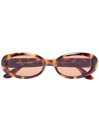 DMY BY DMY Valentina Havana Oval Sunglasses   Farfetch.com