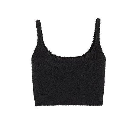 Cozy Knit Bralette - Onyx | SKIMS