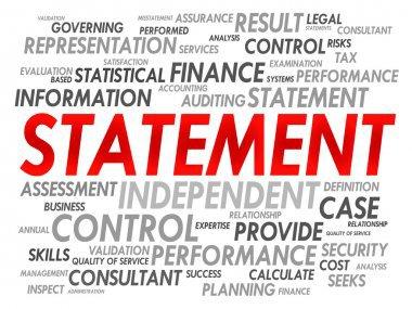 statement word - Google Search