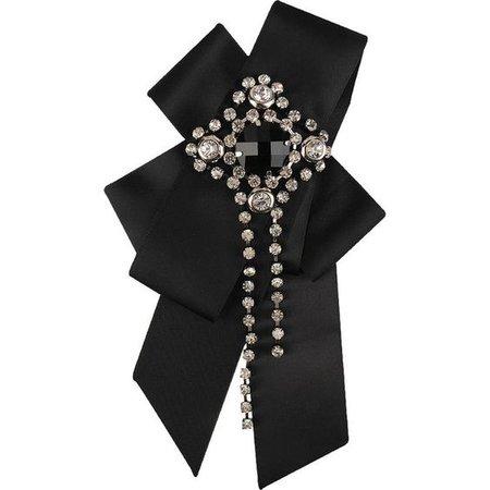 Jeweled Ribbon Hairclip/Pin