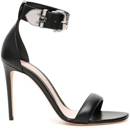 Buckled Heeled Sandals