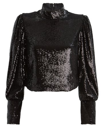 A.L.C | Margaret Sequin Blouse | INTERMIX®