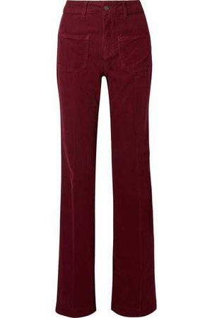 Vanessa Bruno | Dompay cotton-blend corduroy flared pants | NET-A-PORTER.COM