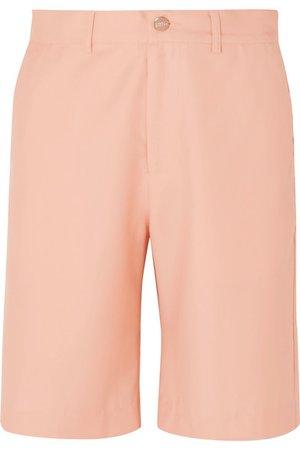 Maggie Marilyn   + NET SUSTAIN Feeling Peachy organic wool-twill shorts   NET-A-PORTER.COM